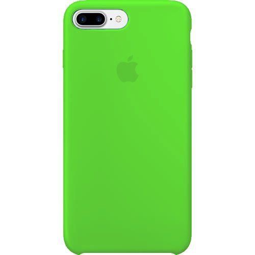 Capa Capinha Case Apple de Silicone - iPhone 7 Plus / Iphone 8 plus - Verde