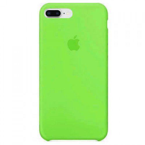 Capa Capinha Case de Silicone para Iphone 7 / Iphone 8 Plus - Verde