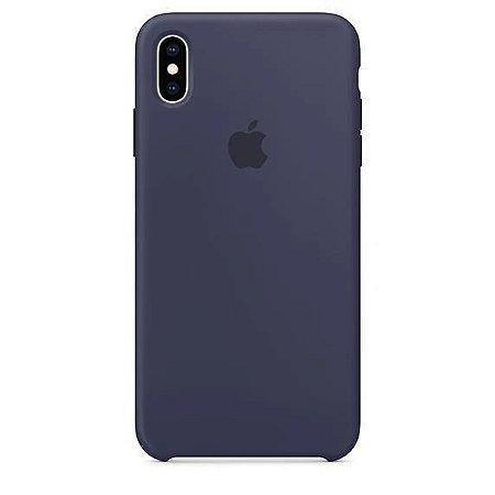 Capa Capinha Case de Silicone para Iphone XR - Azul