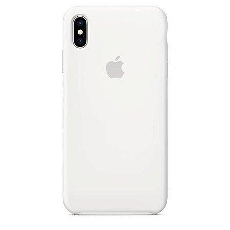 Capa Capinha Case de Silicone para Iphone XR - Branci