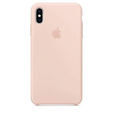 Capa Capinha Case de Silicone para Iphone XR - Rosa