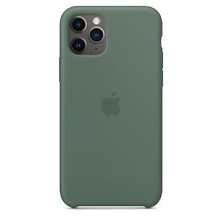 Capa Capinha Case de Silicone para Iphone 11 Pro - Verde