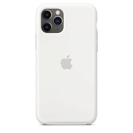 Capa Capinha Case de Silicone para Iphone 11 Pro - Branco