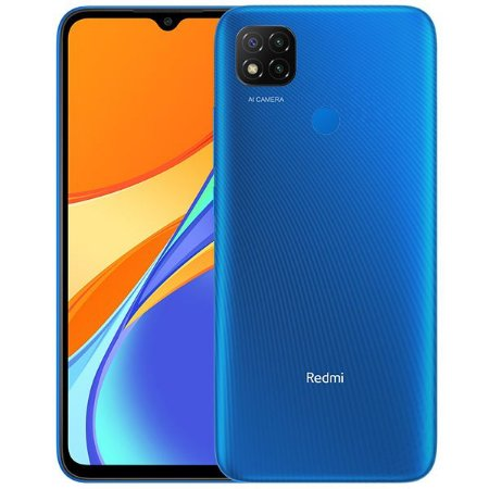 Smartphone Xiaomi Redmi 9 64GB 4GB RAM Tela 6.53 Azul