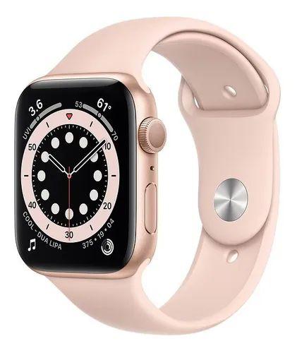 Apple Watch Serie 6 Gps 44mm Original Apple - Rose Gold ( Rosa )