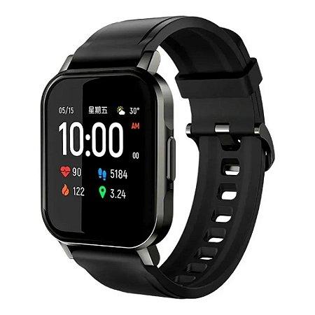 Haylou Smartwatch 2 Ls02 Preto Global Relógio Inteligente Bluetooth