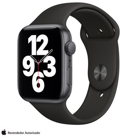 Apple Watch SE 44 mm GPS - Cinza espacial - Novo Lacrado na caixa - 1 Ano de Garantia Apple