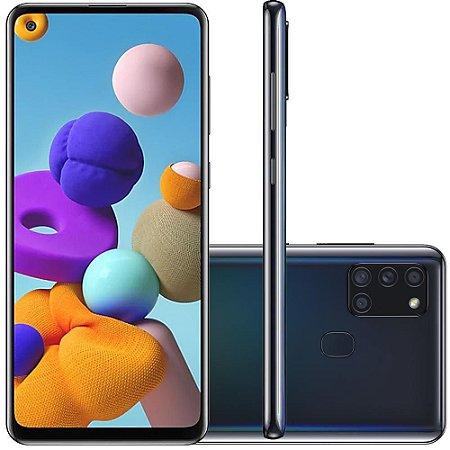 Samsung Galaxy A21s Preto Dual SIM 32 GB preto 3 GB RAM