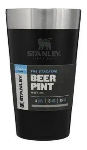 Copo Térmico Stanley Para Cerveja Preto Original / 473ml