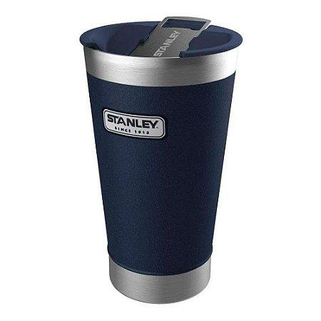 Copo Termico Com Tampa Original Stanley - Azul