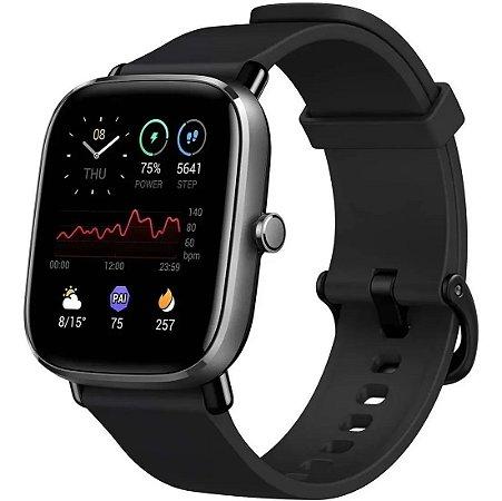 Relogio Smartwatch Xiaomi Amazfit Gts 2 A2018 Mini Global - Preto