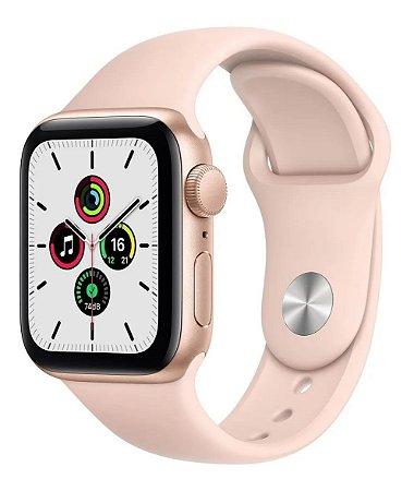 Apple Watch SE 44 mm GPS - Rosa - Novo Lacrado na caixa - 1 Ano de Garantia Apple