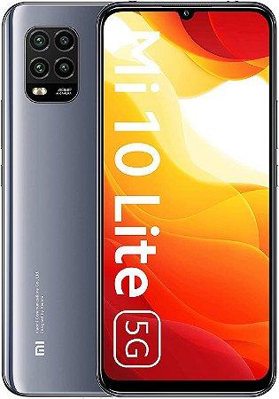 Xiaomi Mi 10 Lite 5G 6 GB/64 GB - Cosmic Grey - Cinza - Versão Global