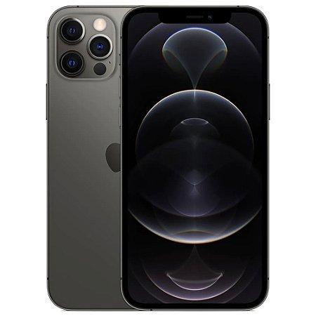 "iPhone 12 Pro Apple 256GB Grafite Tela de 6,1"", Câmera Tripla de 12MP, iOS"