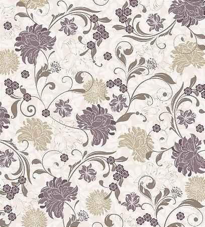 Papel de Parede Adesivo Florais 012