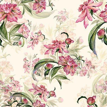 Papel de Parede Adesivo Florais 060