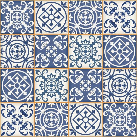 Kit Adesivo de Azulejo Bragança