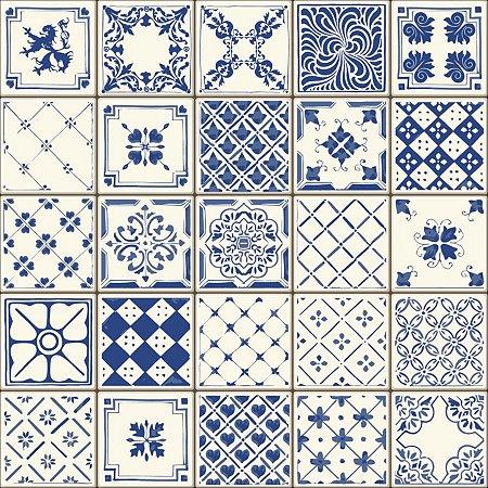 Kit Adesivo de Azulejo Ceramic Portugal