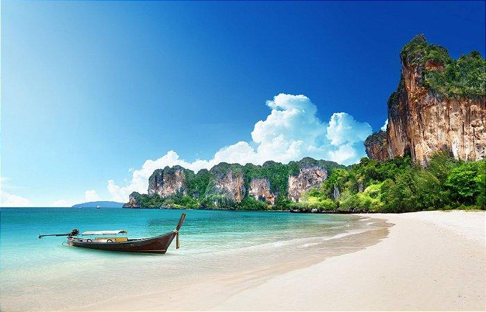 """Painel Fotográfico  """"Railay Beach"""""""