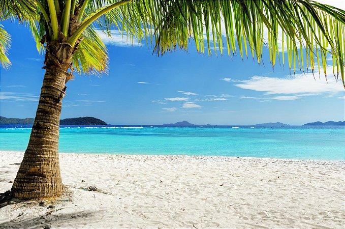 "Painel Fotográfico ""Paradise Beach"""