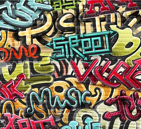 """Painel Fotográfico """"Grafite"""""""