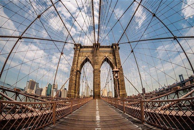 "Painel Fotográfico ""Brooklyn Bridge"""