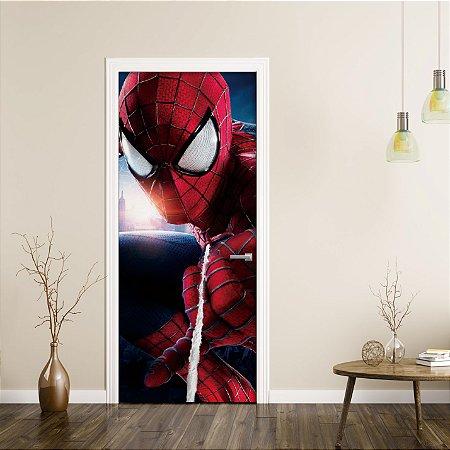 """Adesivo de Porta """"Homem Aranha"""""""