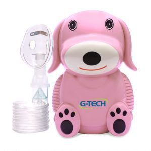 Inalador Nebulizador G Tech Nebdog Rosa