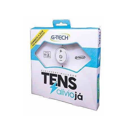 Eletroestimulador Portátil Tens G-Tech + 1par gel condutor Extra