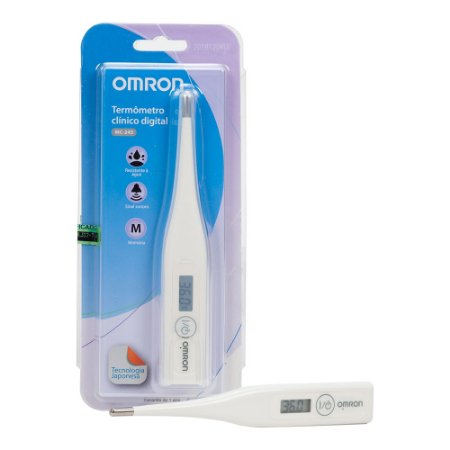 Termômetro Clínico digital Omron MC 245