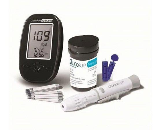 Kit Medidor De Glicemia Glucosure Estojo Preto Multilaser