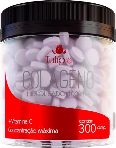 Colágeno + Vitamina C 300 cápsulas - 300gr