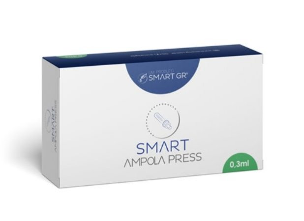 10 Ampola Descartavel para SMART PRESS 0,3 ml L: AM-SPR1-02062020 F: 02/06/2020 V: 01/06/2023