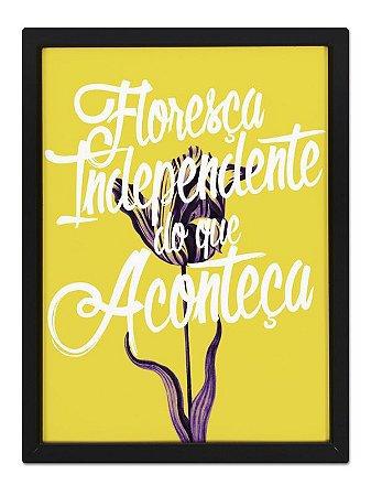 Poster Floresça