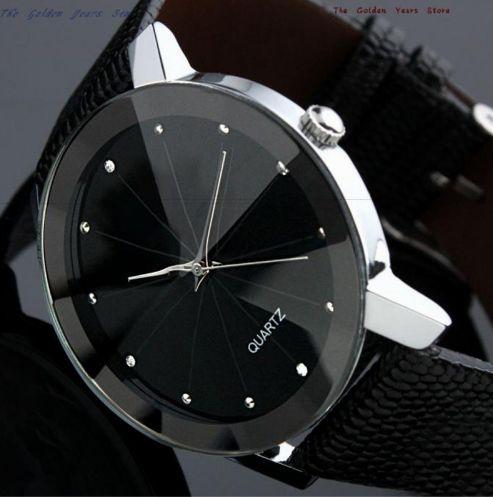 QUARTZ Relógio Fashion Casual Aço Inoxidável