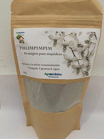 Adubo foliar de rocha - Pirlimpimpim Pó mágico para orquídeas em geral 250 gramas