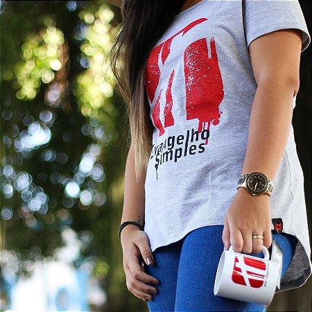 Camiseta Longlook Feminina - Evangelho Simples