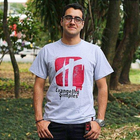 Camiseta masculina - Evangelho Simples