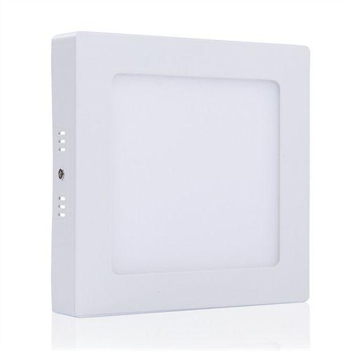 Plafon Quadrado Sobrepor LED 18 Watts - Bivolt