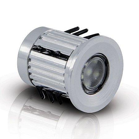 Balizador LED de Solo 0,5 Watts - Bivolt (Verde)