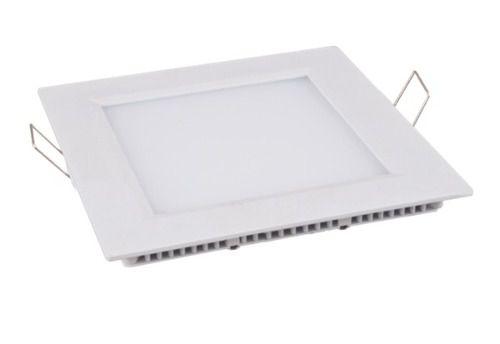 Embutido LED Downlight Slim 6 Watts - Quadrado