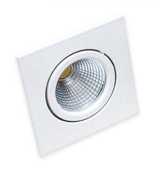 Spot LED 5 Watts Direcionável Quadrado (6.000K)