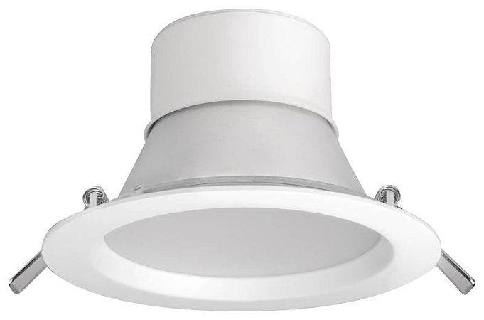 Downlight LED Profissional Fixo 18 Watts - Bivolt (6.500K/Branca)