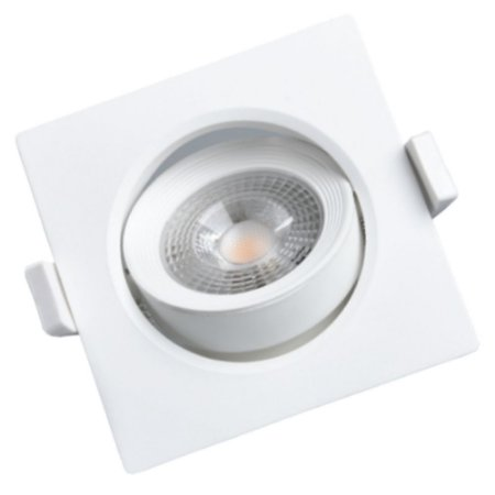 Spot LED Concept 5 Watts Quadrado 3.000k