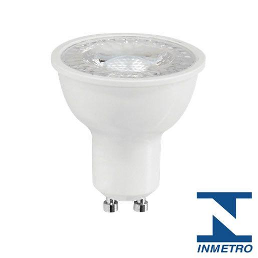 Lâmpada LED Dicróica 5 Watts GU10 - Bivolt (3.000K/Amarela)