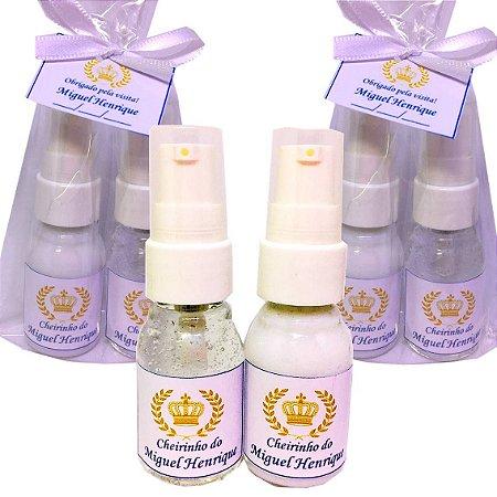 Lembrancinha Maternidade Kit Hidratante e Alcool gel 30 ml Dosador Basic com Tag