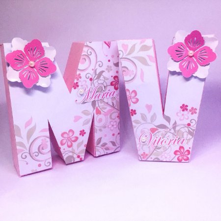 Letras Decorativas - Scrapbook