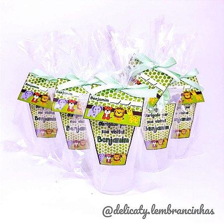 Lembrancinhas Maternidade - Mini álcool gel 40 ml na bisnaga classic