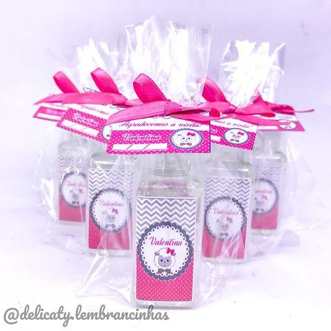 Lembrancinha Maternidade - Mini álcool gel 40 ml basic com tag