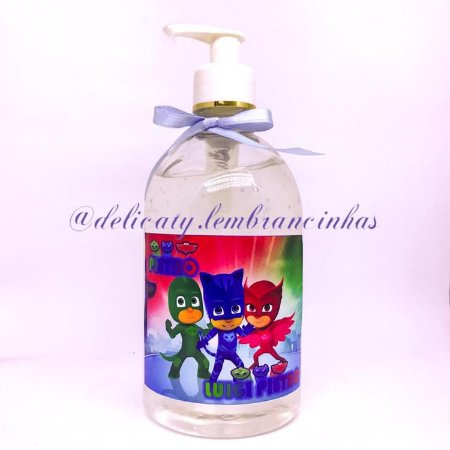 Lembrancinha Maternidade - Alcool gel 500 ml personalizado